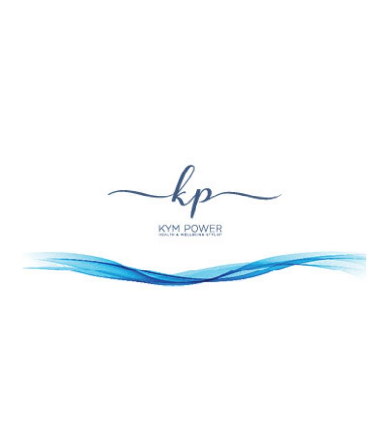 personal brand logo KYM POWER