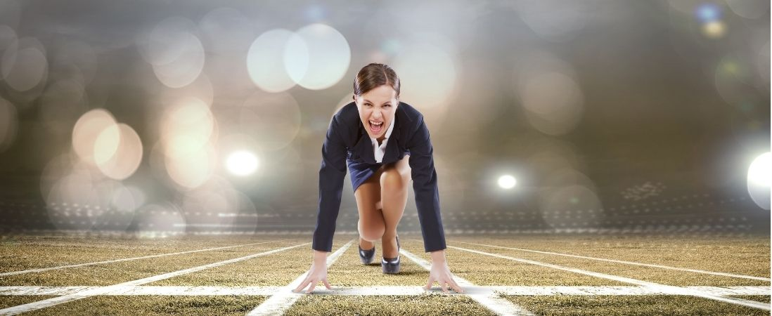 professional race to build a personal brand
