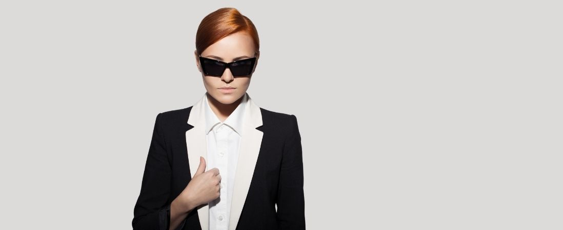 Woman in Personal Brand and Leadership Image